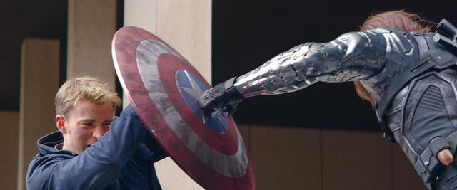 画像: 「キャプテン・アメリカ/ウィンター・ソルジャー」はあらゆるアクション映画の面白さがつまっているよ。