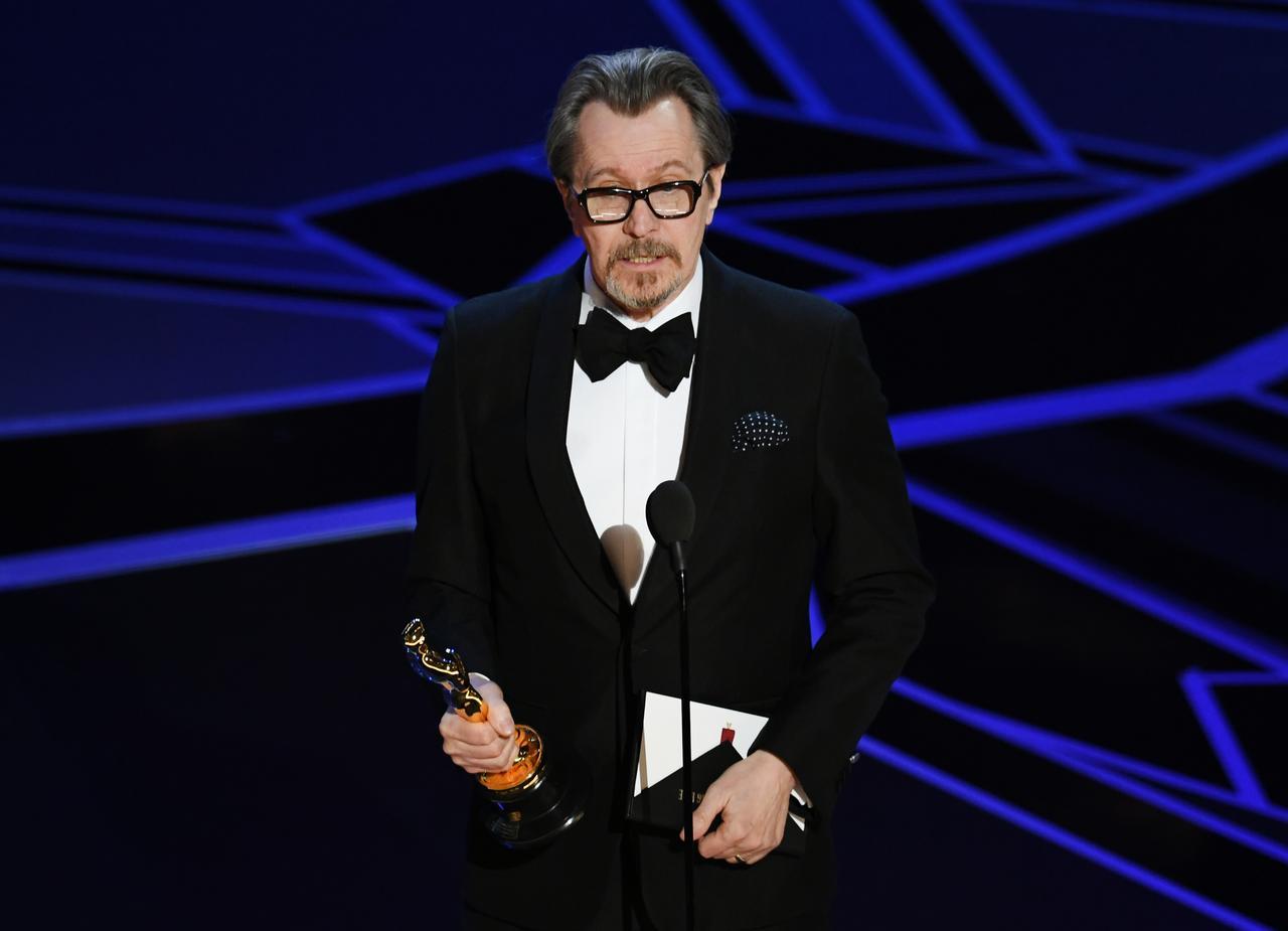 画像: 主演男優賞のゲーリー・オールドマン Getty Images