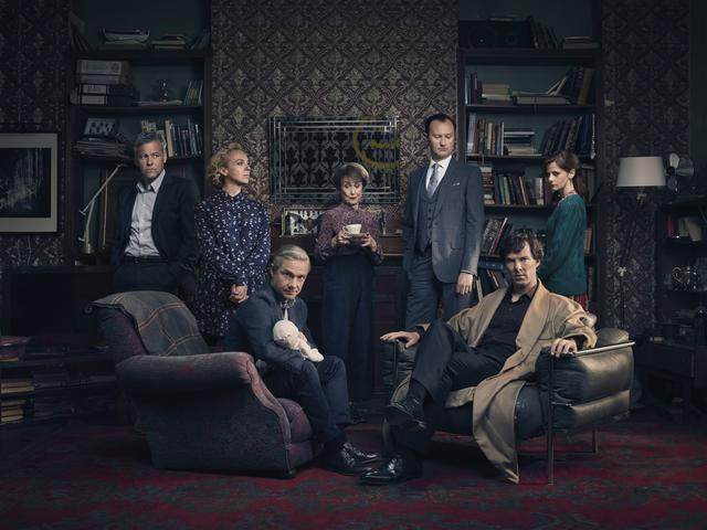 画像: 昨年1位だった「SHERLOCK/シャーロック」 ©2015 Hartswood Films Ltd. A Hartswood Films production for BBC Wales co-produced by Masterpiece. Distributed by BBC Worldwide Ltd.
