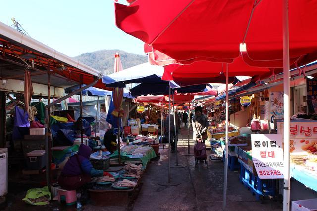 画像: チャガルチの海鮮市場でもロケを