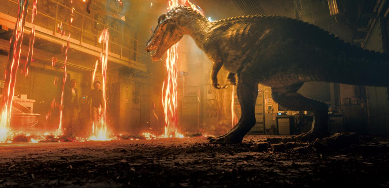 画像: 火山が噴火した島で恐竜たちを救うことができるのか?