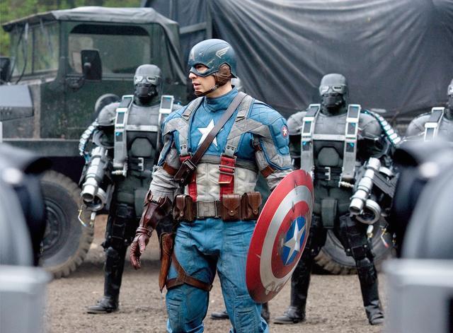 画像: ◆ キャプテン・アメリカ誕生