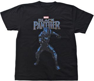 【MARVEL】 ブラックパンサー 半袖Tシャツ
