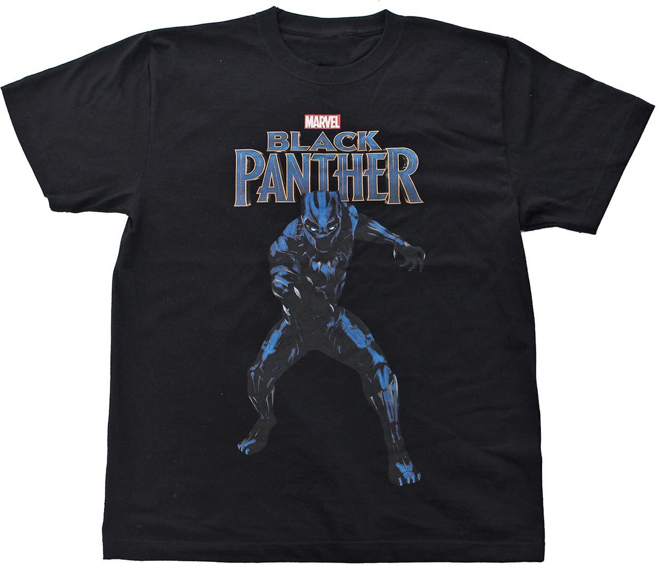 Images : 【MARVEL】 ブラックパンサー 半袖Tシャツ