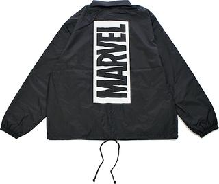 【MARVEL】 マーベル ボックスロゴ コーチジャケット