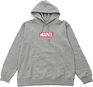 【MARVEL】 ボックスロゴ パーカー