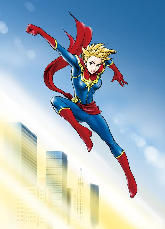 画像: Captain Marvel
