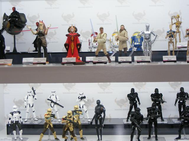 画像4: フィギュア300体展示!撮り放題!「TAMASHII Comic-Con」 渋谷で開催中!見てきたよ、編集Kの突撃レポート