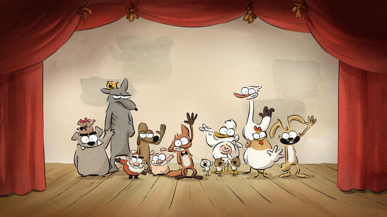 画像: 「とてもいじわるなキツネと仲間たち」