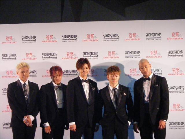 画像1: 三代目J Soul Brothers 山下健二郎、岩田剛典、EXILE HIROらが顔をそろえたSSFF & ASIA レッドカーペット・イベント