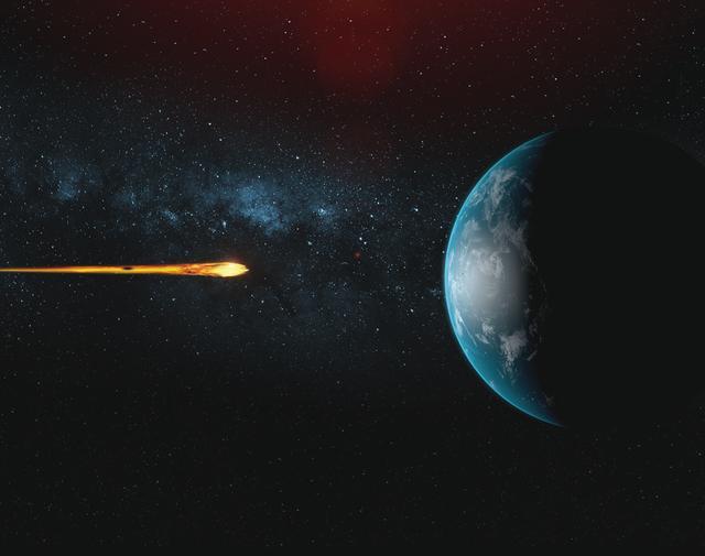 画像: 180日後に小惑星が地球に衝突の危機!人類滅亡率は97%!