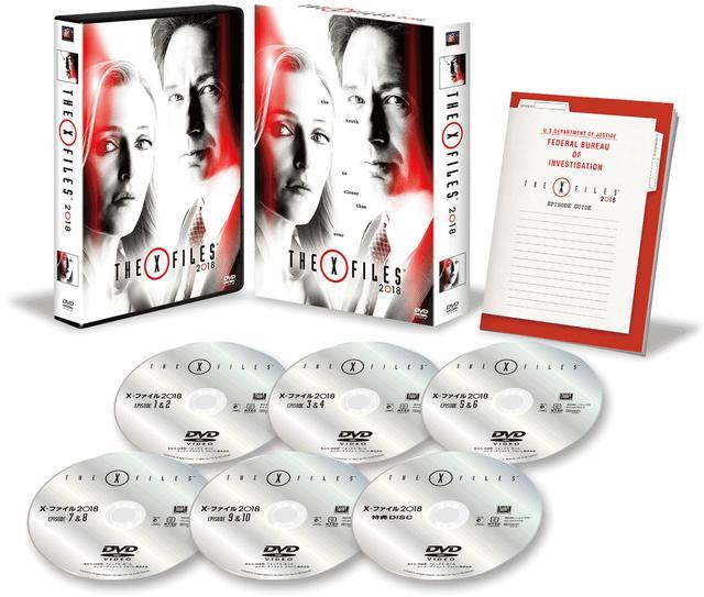画像: 「X-ファイル2018」 ブルーレイBOXフォックス・HE/2018年7月18日発売、10000円+税(3枚組)、DVDコレクターズBOXは8000円+税(6枚組)で同時発売 特典=エピソードガイド、ポストカードセット封入、続・撮影現場のエコ・プロジェクト、主演者二人の対談、スカリー効果、「X-ファイル」を紐解く:シーズン11の構築、X-ファイル25周年ほか