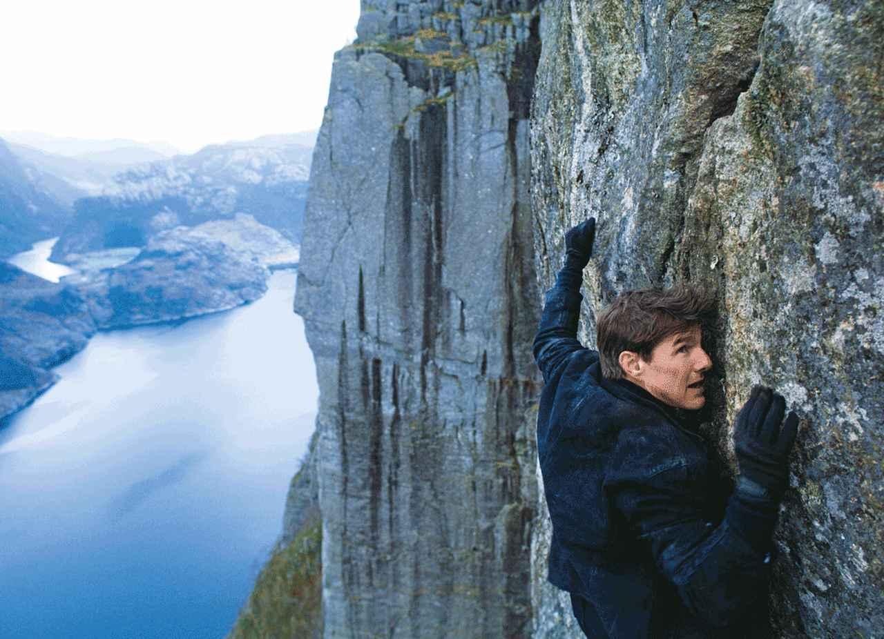 画像: 今回も絶壁をよじ登る!