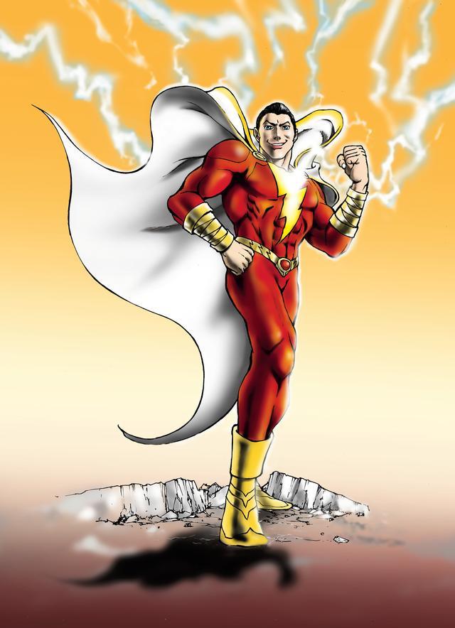 画像: スーパーマッチョ・ヒーロー、シャザムの映画化に期待!