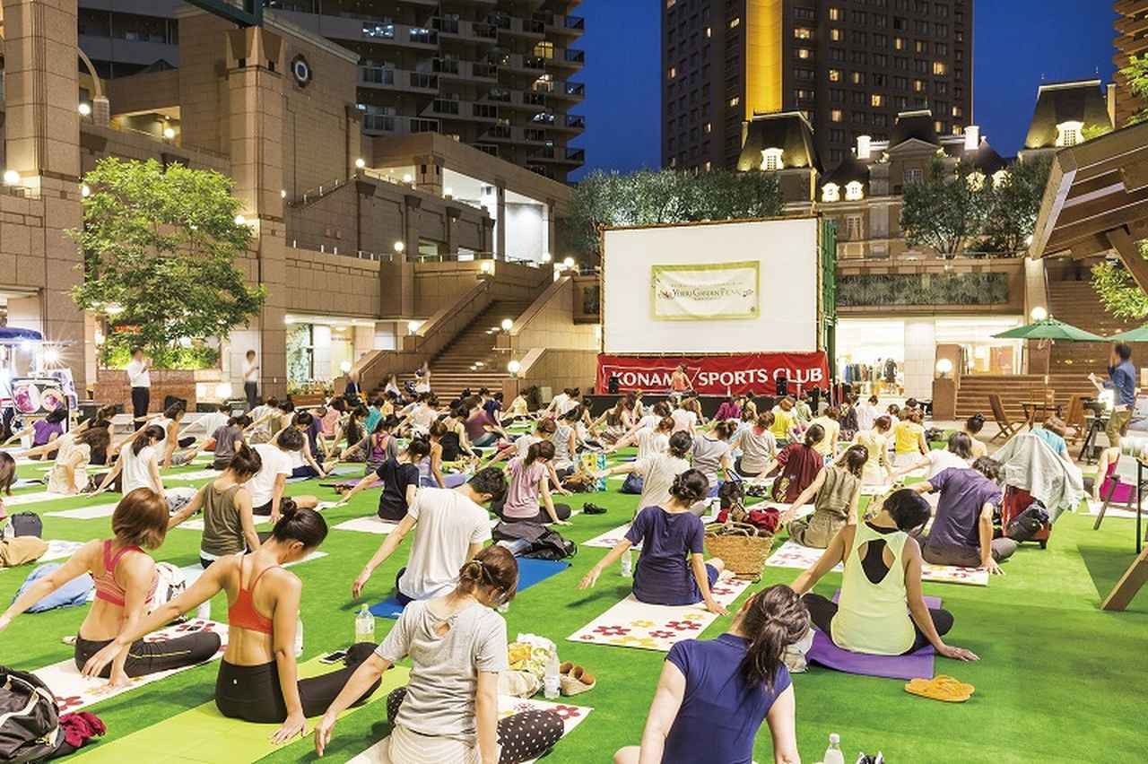 画像1: 開放的な空間で楽しめるヨガを朝・夕に開催