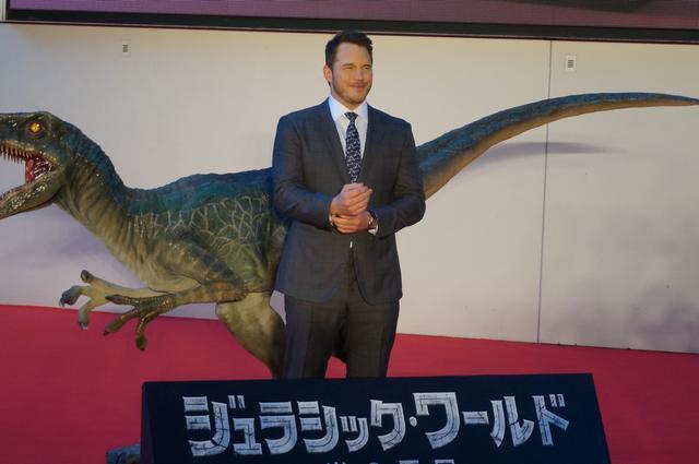 画像: ジャパンプレミアに出席したクリス・プラット