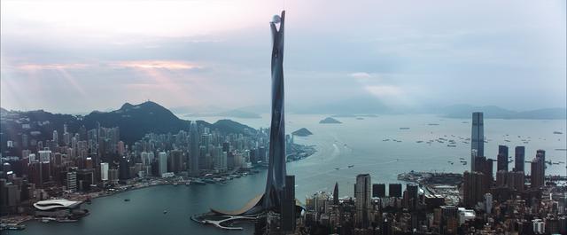 画像: 1000メートル級のビル、ザ・パール