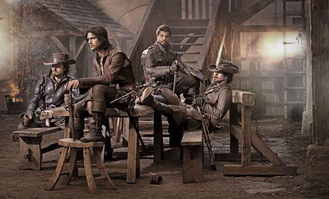 """画像: """"ヒゲ""""好きにはたまらない、英国ドラマ!17世紀のパリの世界が舞台の「マスケティアーズ パリの四銃士」。 - SCREEN ONLINE(スクリーンオンライン)"""