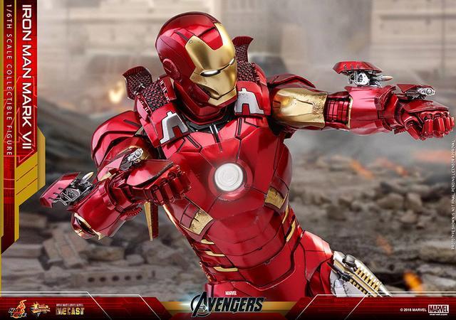 画像1: ムービー・マスターピース通算500体目! 武装特化型パワードスーツ「アイアンマン・マーク7」