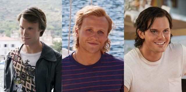 画像: 若い時代のパパ三人を演じる男優たち
