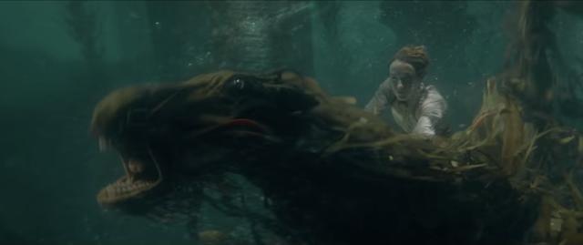 画像: ケルピーは水中を猛スピードで移動できる魔法動物 youtu.be