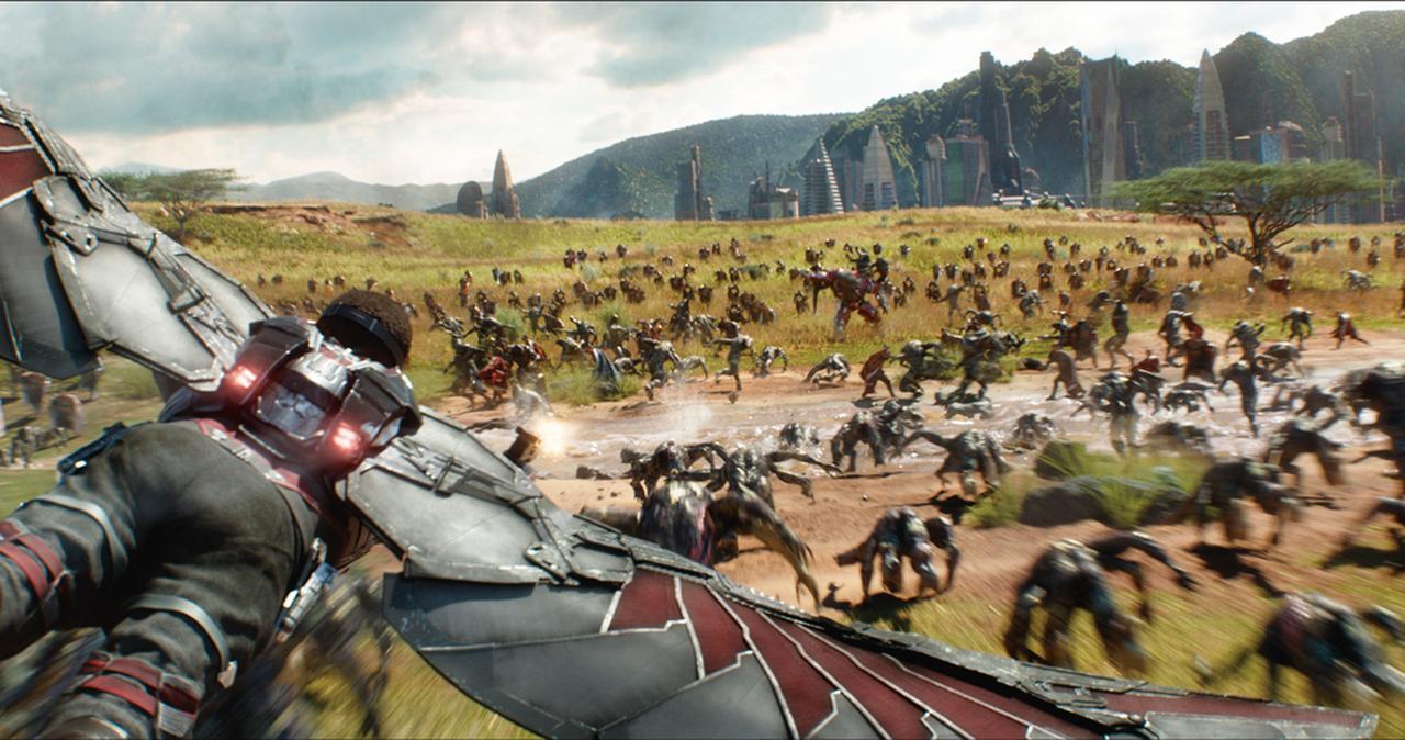 画像: サノスとの最終決戦地はワカンダだった