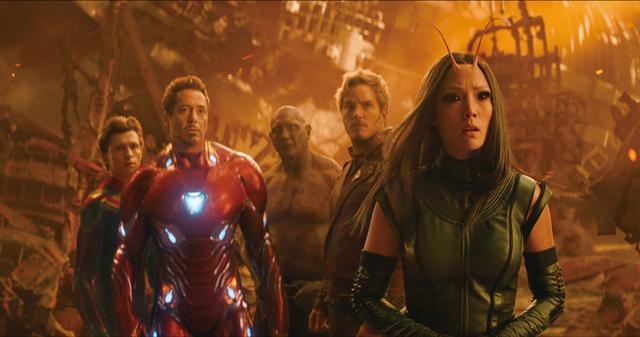 画像: アイアンマンとスパイダーマンはガーディアンズと合流した