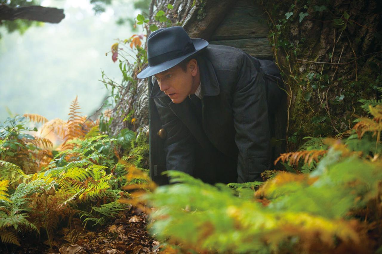 """画像: 本物の""""100エーカーの森""""で撮影"""
