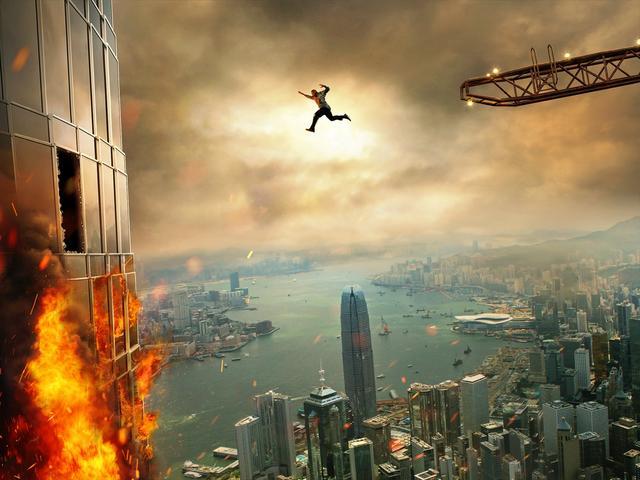 画像1: ロック様が地上最高の超高層ビルで超絶アクション! 見たことないスゴ映画「スカイスクレイパー」