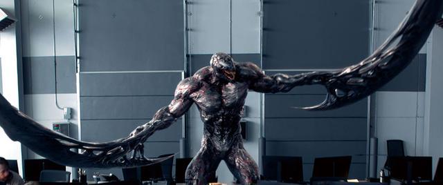 画像: ヴェノムと敵対するもう一体のシンビオート、ライオット