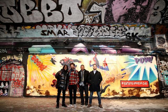 画像: ロンドンではグラフィティ・トンネル・イベントも開催