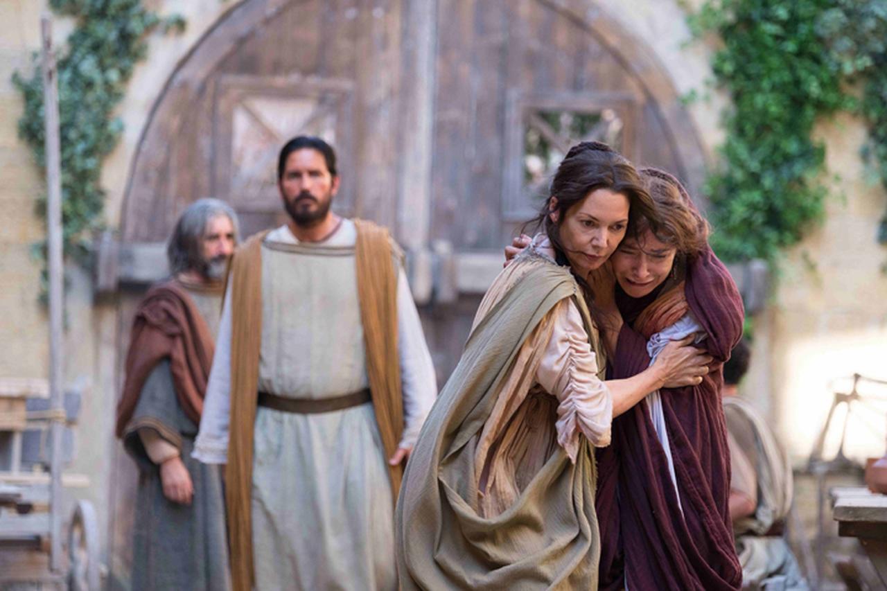 画像: キリスト教の使徒パウロと医師ルカの歴史ドラマ