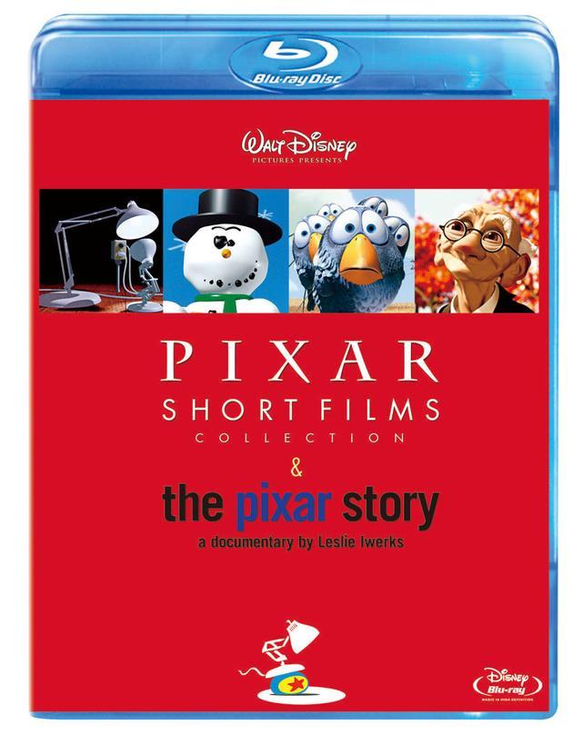 画像: 『ピクサー・ショート・フィルム & ピクサー・ストーリー 完全保存版』 ブルーレイ/ DVD発売中 The Adventures Of André & Wally B.©1984 Pixar and Lucasfilm Ltd. Luxo Jr., Red's Dream, Tin Toy, Knick Knack, Geri's Game, For The Birds, Boundin', One Man Band © Pixar. Mike's New Car, Jack-Jack Attack, Mater And The Ghostlight, Lifted © Disney/ Pixar. Pixar Shorts © 2018 Disney/Pixar. 発売/ウォルト・ディズニー・ジャパン