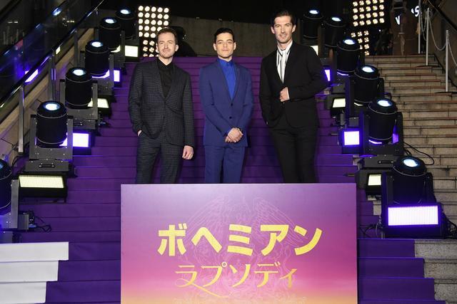画像3: 「ボヘミアン・ラプソディ」キャスト来日! 紫カーペットで華麗なるジャパンプレミア開催