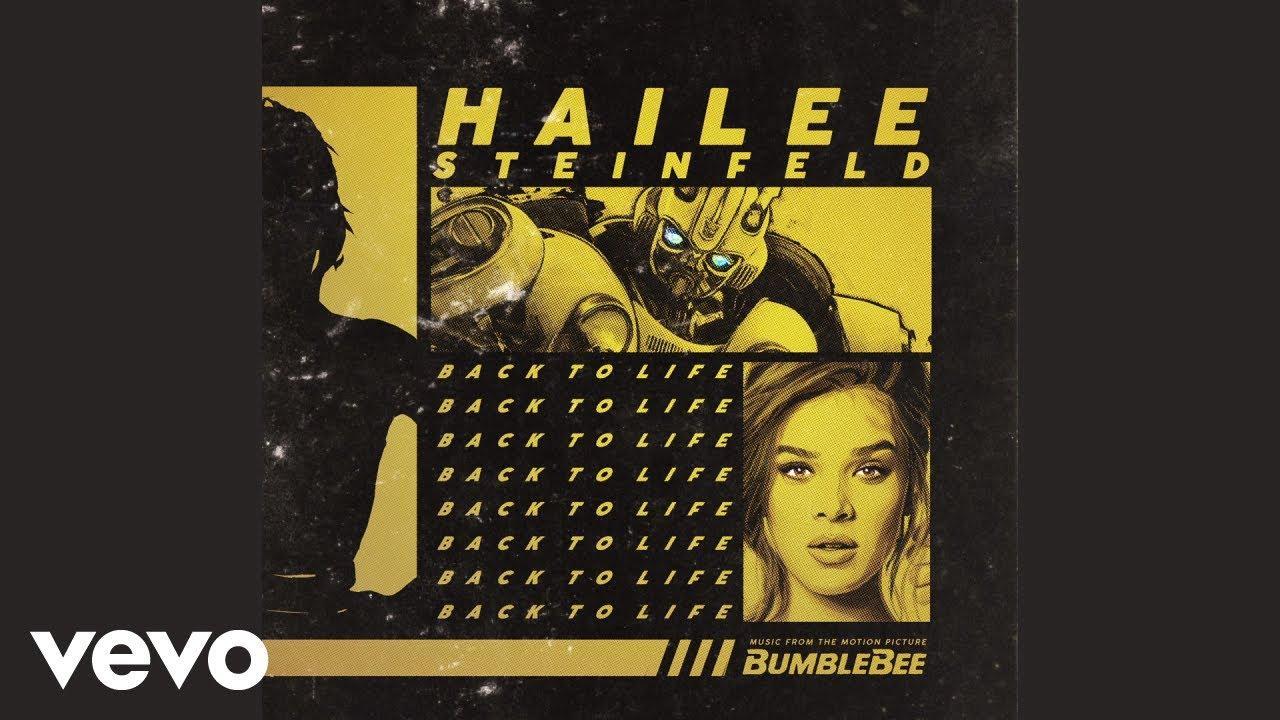 """画像: Hailee Steinfeld - Back to Life (from """"Bumblebee"""" / Audio) www.youtube.com"""