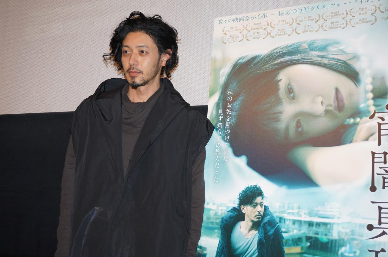 画像3: 『宵闇真珠』初日舞台挨拶で オダギリジョーがクリストファー・ドイルとの撮影を振り返った