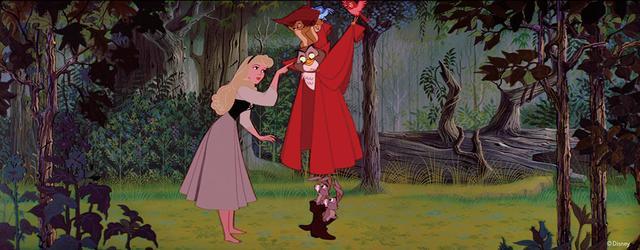 画像: 森の中で育っても王女の気品は失わない