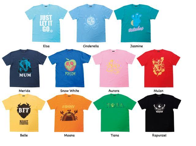 画像: Tシャツ 各4104円
