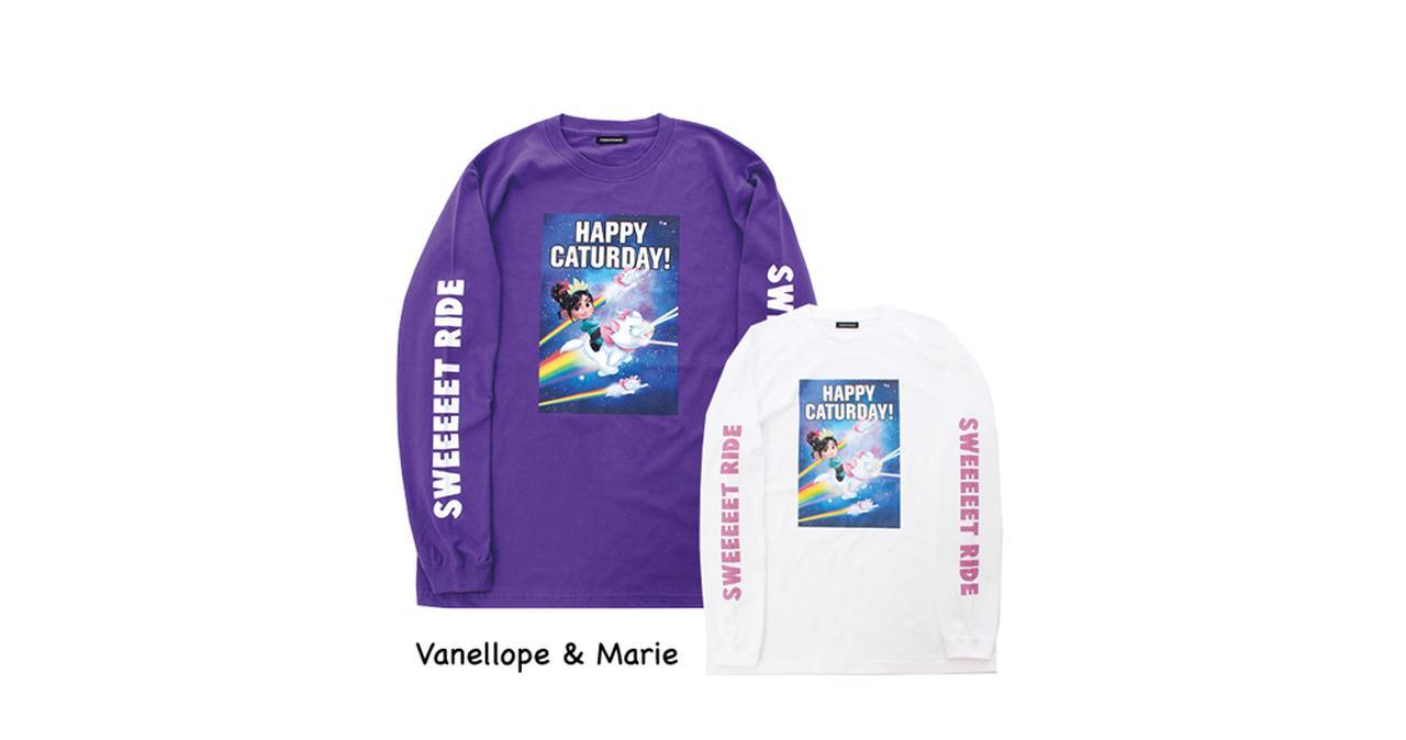 画像2: ロングTシャツ各5184円