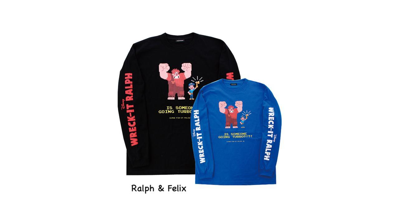 画像1: ロングTシャツ各5184円