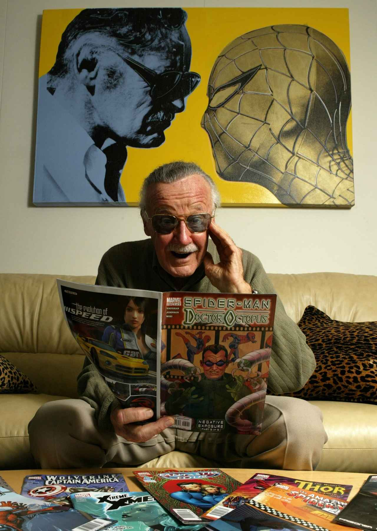 画像: コミック編集者として数多くのマーベル・ヒーローを生み出した
