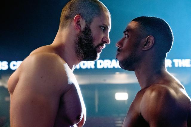 画像: ボクシングのシーンでは本当にパンチが当たることも