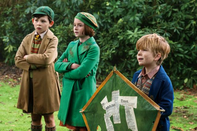 画像: (左から)ジョン、アナベル、ジョージー
