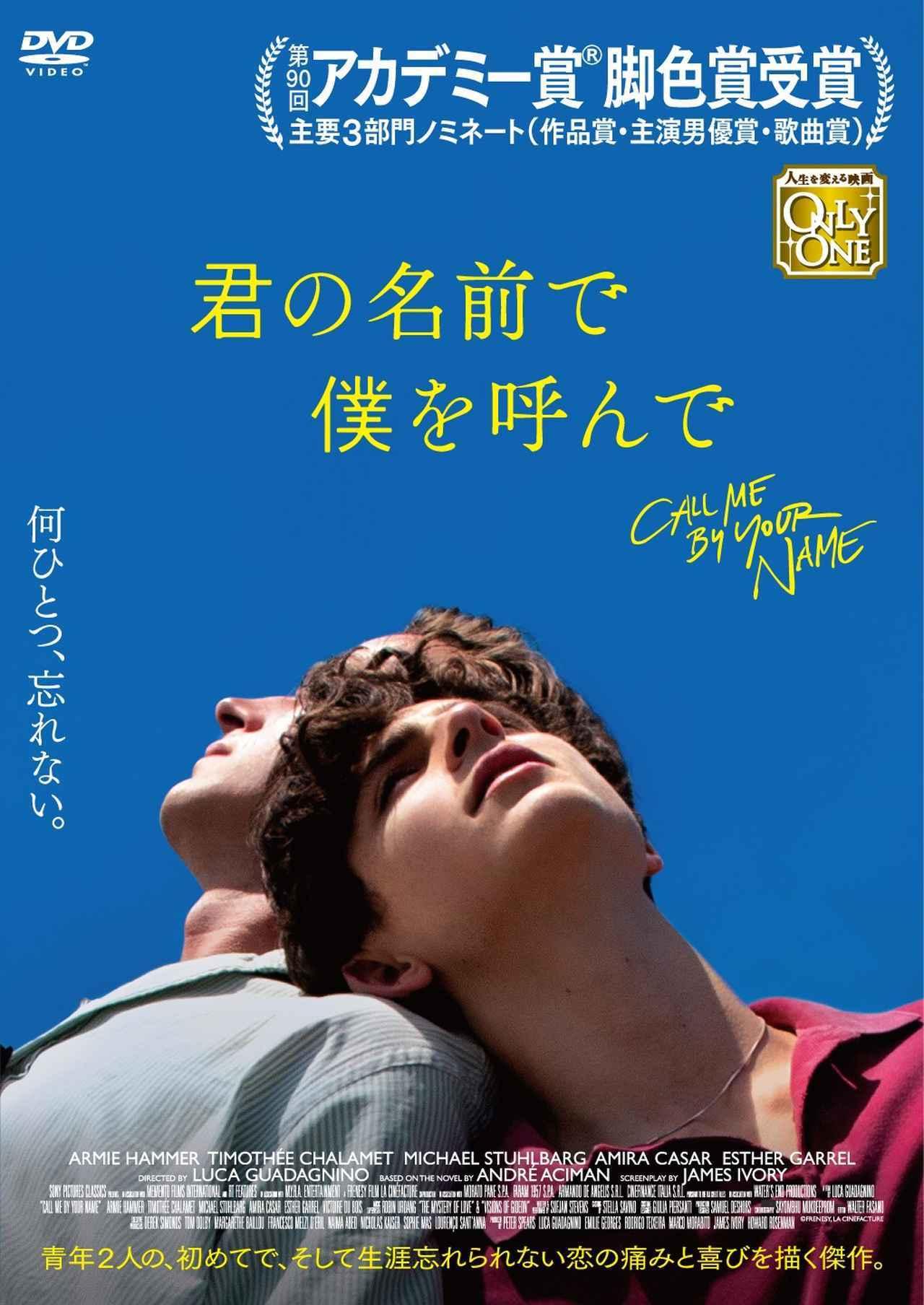 画像: 『君の名前で僕を呼んで』Blu-ray&DVD 9.14(金)TSUTAYA限定でレンタル開始/9.21(金)発売 - SCREEN ONLINE(スクリーンオンライン)