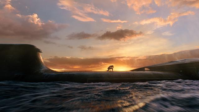 画像: アクアマンが潜水艦を救うシーンに惚れます!