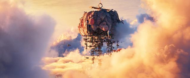 画像: 「天空の城ラピュタ」などの宮﨑アニメを想起させる場面も