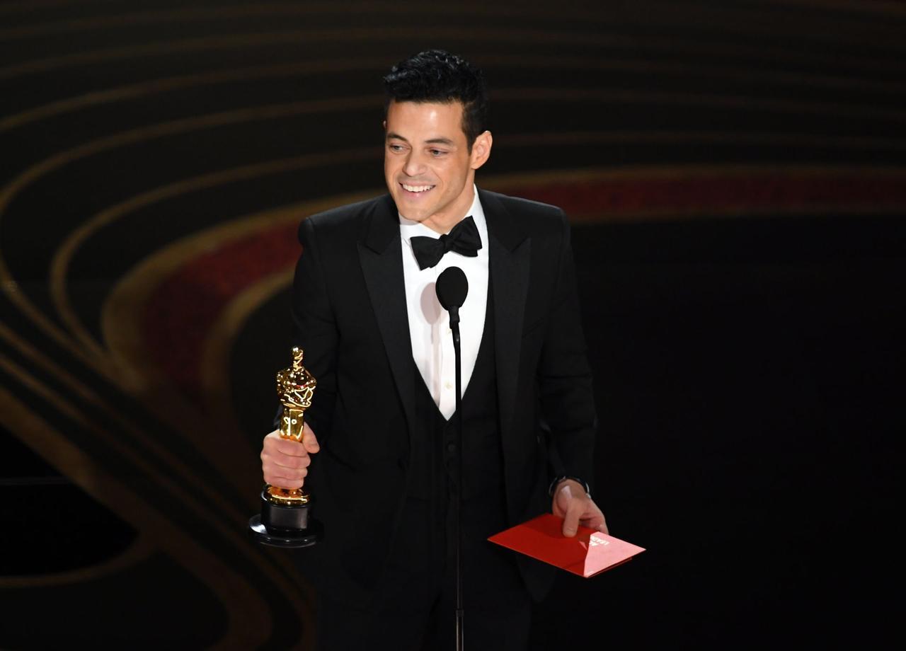 画像: 主演男優賞を受賞したラミ・マレック Getty Images
