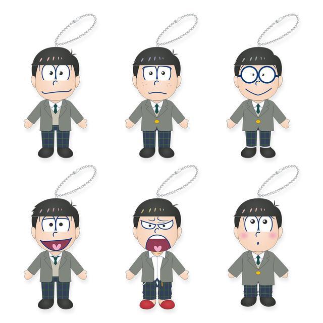 画像: 各1600円/全6種