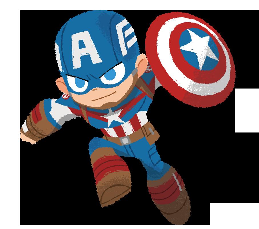 画像 アイアンマンとペアが多いキャプテン・アメリカだけど、最近はウィンター