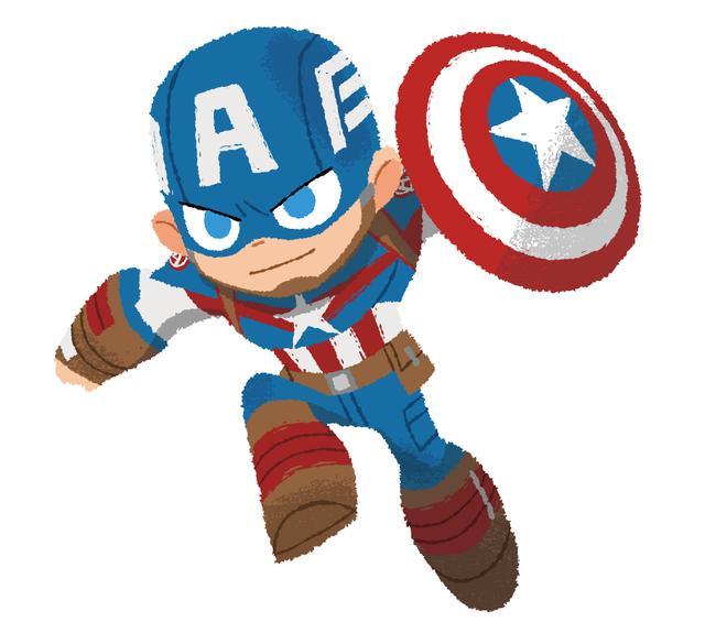 画像: アイアンマンとペアが多いキャプテン・アメリカだけど、最近はウィンター・ソルジャーとのペアも人気です。